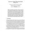 Approaches to Support Differentiated Quality of Web Service