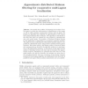 Approximate Distributed Kalman Filtering for Cooperative Multi-agent Localization