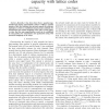 Approximately achieving Gaussian relay network capacity with lattice codes