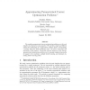Approximating Parameterized Convex Optimization Problems