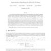 Approximation Algorithms for k-hurdle Problems