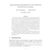 Approximation Algorithms for the Bottleneck Stretch Factor Problem