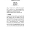 Approximation to a Behavioral Model for Estimating Traffic Aggregation Scenarios