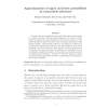 Approximations of upper and lower probabilities by measurable selections