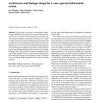 Architecture and dialogue design for a voice operated information system