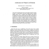 Architectures for Widget-Level Plasticity