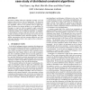 Are Multiagent Algorithms Relevant for Real Hardware? A Case Study of Distributed Constraint Algorithms