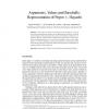 Arguments, Values and Baseballs: Representation of Popov v. Hayashi