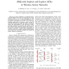 ARQ with Implicit and Explicit ACKs in Wireless Sensor Networks