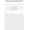 Assessing agreement of clustering methods with gene expression microarray data