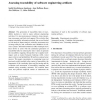 Assessing traceability of software engineering artifacts