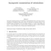 Asymptotic enumeration of orientations