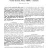 Asymptotic Ergodic Capacity of Multidimensional Vector-Sensor Array MIMO Channels