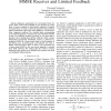 Asymptotic Performance of DS-CDMA with Linear MMSE Receiver and Limited Feedback