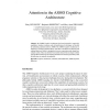 Attention in the ASMO Cognitive Architecture