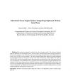 Attentional Scene Segmentation: Integrating Depth and Motion