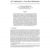 AUC Optimization vs. Error Rate Minimization