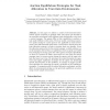 Auction Equilibrium Strategies for Task Allocation in Uncertain Environments