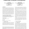 Augmenting audio messages with visual directions in mobile guides: an evaluation of three approaches