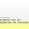 Automated Test Set Generation for Statecharts