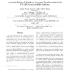 Automated testing of healthcare document transformations in the PICASSO interoperability platform