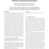 Automated workload characterization for I/O performance analysis in virtualized environments
