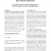 Automatic contention detection and amelioration for data-intensive operations