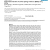 Automatic detection of exonic splicing enhancers (ESEs) using SVMs