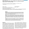 Automatic generation of gene finders for eukaryotic species