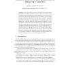 Automatic Hidden-Web Table Interpretation by Sibling Page Comparison