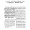 Automatic High-Dynamic Range Image Generation for Dynamic Scenes