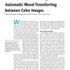 Automatic Mood-Transferring between Color Images