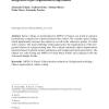 Automatic MPEG-4 sprite coding - Comparison of integrated object segmentation algorithms