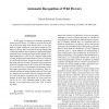 Automatic Recognition of Wild Flowers