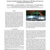 Automatic Targetless Extrinsic Calibration of a 3D Lidar and Camera by Maximizing Mutual Information