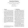 Automating SLA modeling
