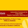 Automation Framework for Large-Scale Regular Expression Matching on FPGA