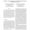 Autonomic Adaptation of Virtual Distributed Environments in a Multi-Domain Infrastructure