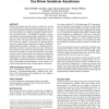 Autonomous driving: investigating the feasibility of car-driver handover assistance