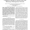 Autonomous Network Management Using Cooperative Learning for Network-Wide Load Balancing in Heterogeneous Networks