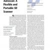 Autoscan: A Flexible and Portable 3D Scanner