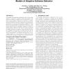 Avida-MDE: a digital evolution approach to generating models of adaptive software behavior
