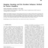 Bagging, Boosting and the Random Subspace Method for Linear Classifiers