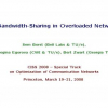 Bandwidth-sharing in overloaded networks