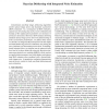 Bayesian Deblurring with Integrated Noise Estimation