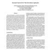 Bayesian Framework for Video Surveillance Application
