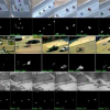 Belief Propagation in a 3D Spatio-temporal MRF for Moving Object Detection