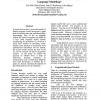 Beyond N-Grams: Can Linguistic Sophistication Improve Language Modeling?