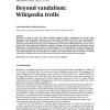 Beyond vandalism: Wikipedia trolls