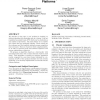 Bi-criteria algorithm for scheduling jobs on cluster platforms